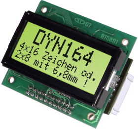 RS-232 Text Display 4x16