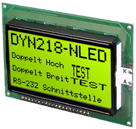 RS-232 Text Display 8x21