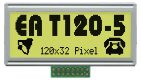 Graphic LCD 120x32 dots
